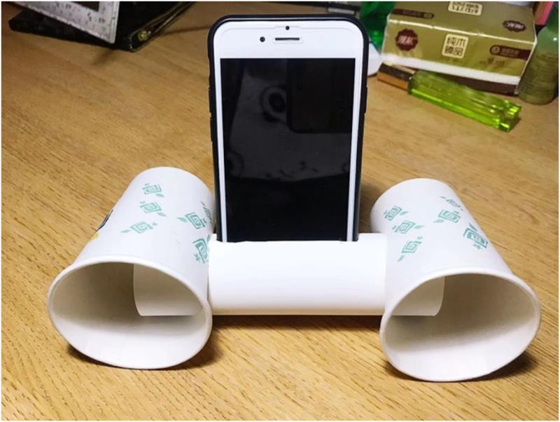 纸杯手机扩音器